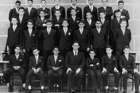 Antigos alunos do Colégio Loyola.